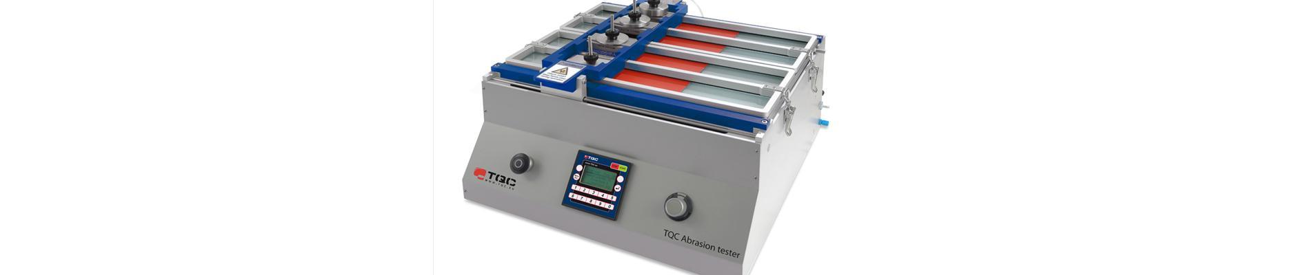 TQC - Abrasion tester